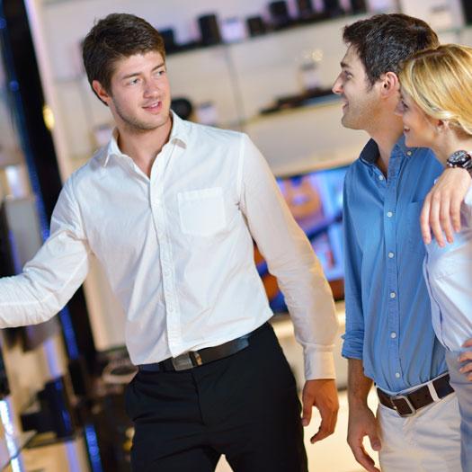 Salgszoner giver sælgerne en udvidet situationsfornemmelse